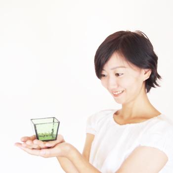 Nijiiro Lamp ステンドグラスランプ にじいろ 瀬戸市