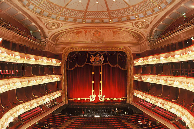 The Royal Opera House auditorium ©Rob Moore/ROH 1998