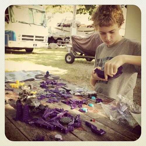 He'll be a teenager tomorrow. #zeb #play #lego