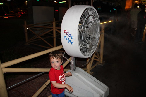 Olsen loved the Cool Zone fans