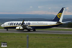EI-DYX - 37517 - Ryanair - Boeing 737-8AS - Bristol - 120808 - Steven Gray - IMG_6609
