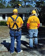 neighbors helping after a disaster