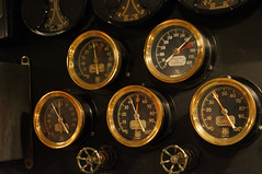 Gauges, tubes and dials