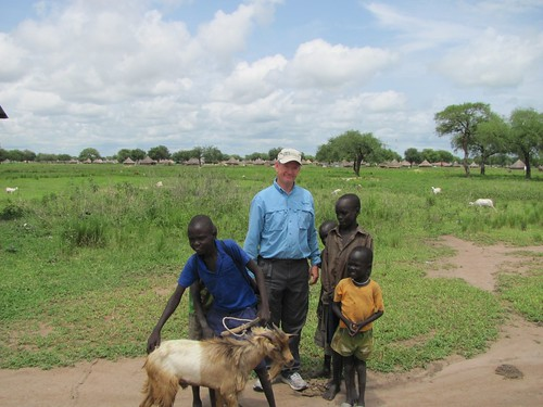 Dr. Whisenant in South Sudan