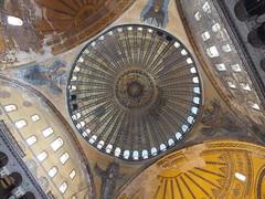 Estambul. Santa Sofía. Hagia Sophia. I el espacio interno.