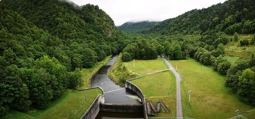 View from the Kanoko Dam (Lake Oketo, Hokkaido, Japan)