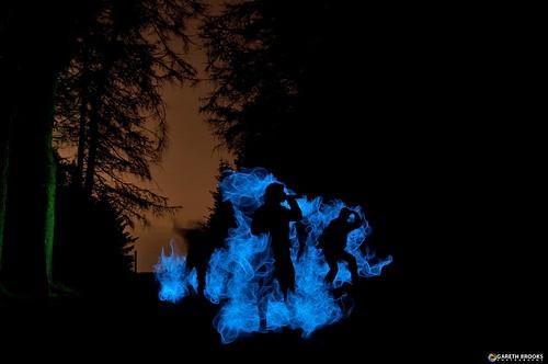 longexposure lightpainting fog smoke zombies johncarpenter thefog nocturnalcreatures garethbrooks