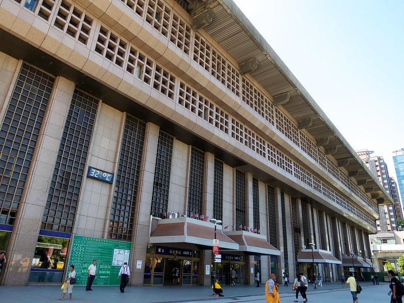 2012 台湾旅行 台北駅