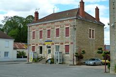 France 2012 – Bureau de poste in Saint-Germain-du-Bois