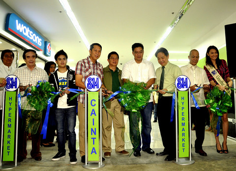 SM Hypermarket Cainta Ribbon Cutting