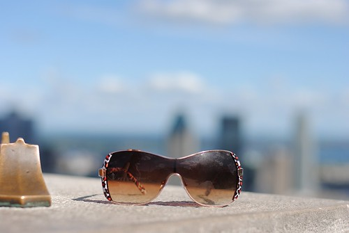 Sunglasses and the city