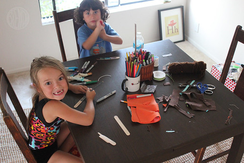 kids go bananas with crafting