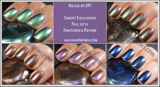 Nicole by OPI Target Exclusives Fall 2012