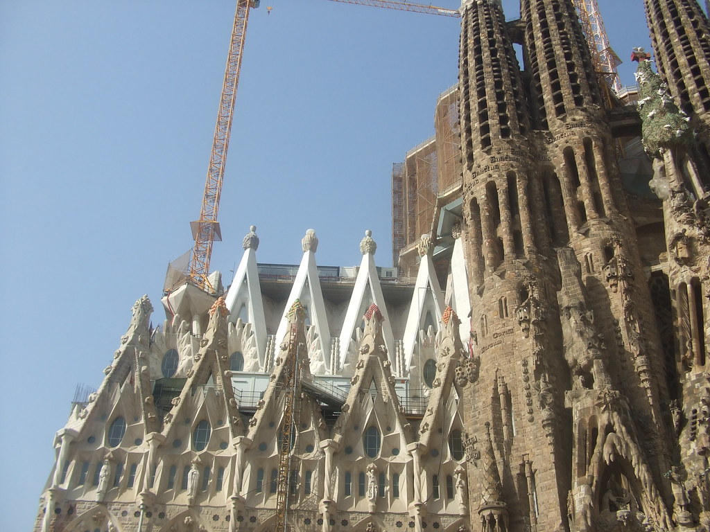 basilica of Sagrada Familia photo