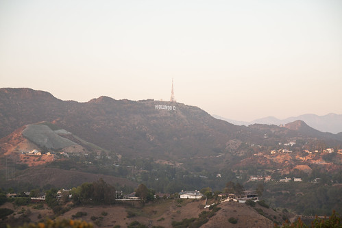 Hollywood Sign from Mullholland Dr.