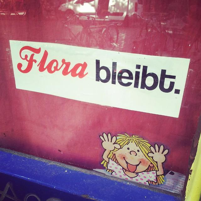 Flora bleibt
