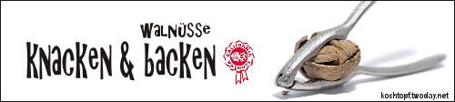 Blog-Event LXXXI - Knacken & Backen und eine KitchenAid gewinnen! (Einsendeschluss 15. September 2012)