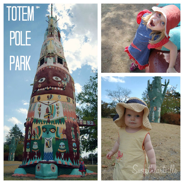 totem pole park collage