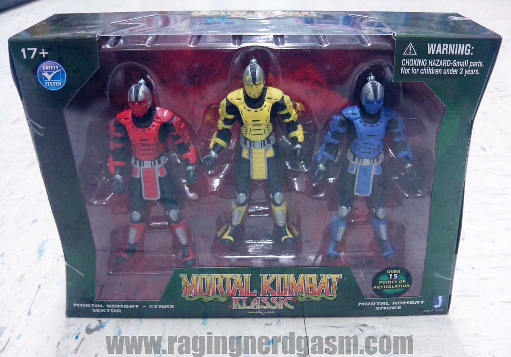Mortal Kombat Action Figures KlassicsJazwares12