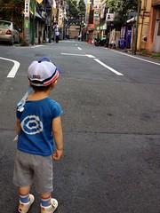 朝散歩 (2012/8/20)