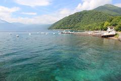 Lake Shikotsu in summer / 夏の支笏湖