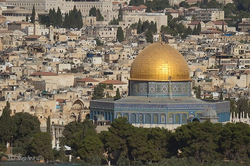 Dome of Rock - Old Jerusalem by Stephen J Stephen