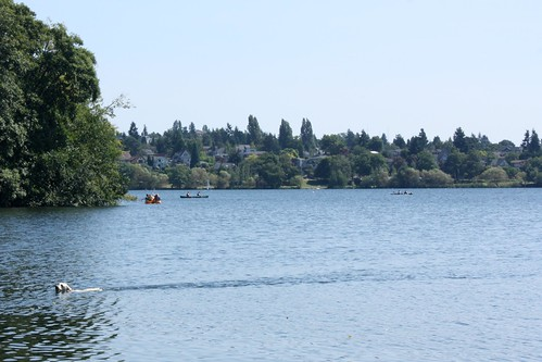 Green Lake in Seattle