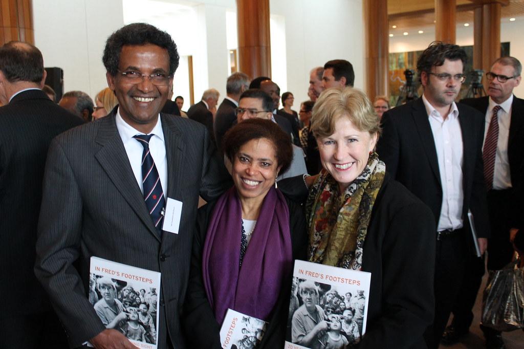 Christine Milne Fessehaie and Hadas Abraham