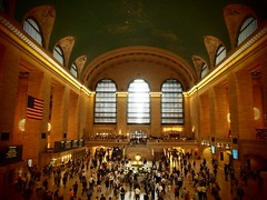 Central hall of Union Square station (New York, USA 2012)