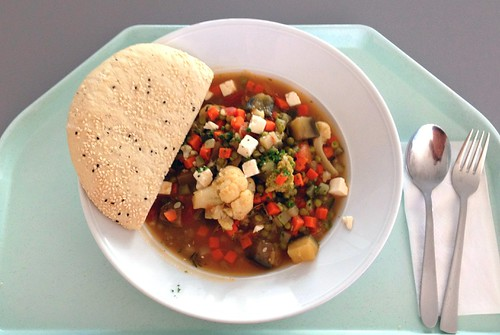 Griechischer Gemüsetopf / Greek vegetable stew