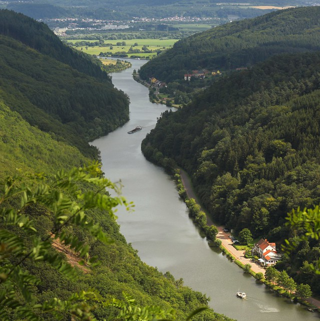 The sinuosity of the river Saar