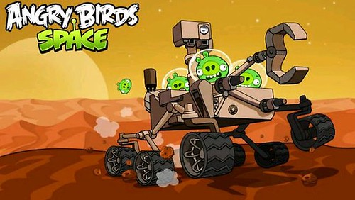 Angry Birds On Mars Investigating Curiosity [Angry Birds Space]