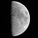 First Quarter Moon - August 24, 2012