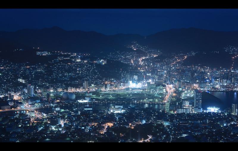 1000万ドルの夜景。