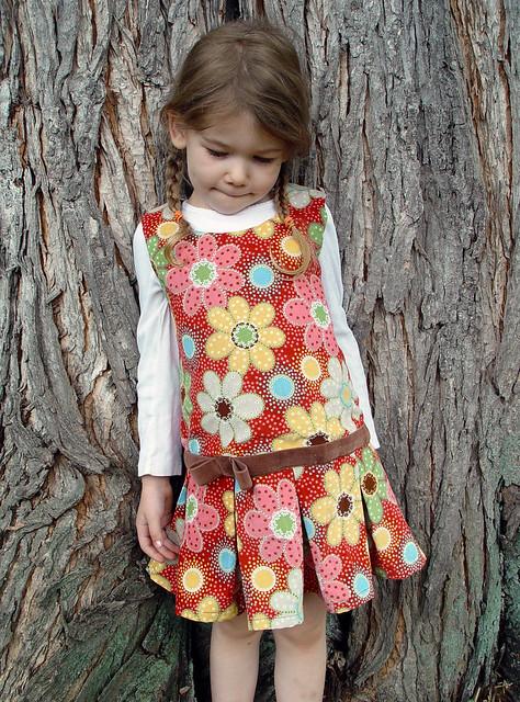 floral cord jumper 2