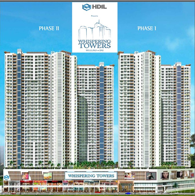 HDIL Whispering Towers, LBS Marg, Mulund West, Mumbai