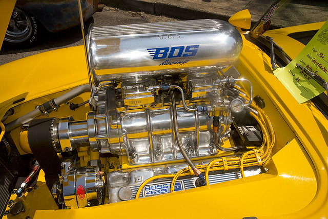 A blown Boss 429 in a Shelby Cobra | Sure, why not? At the ...
