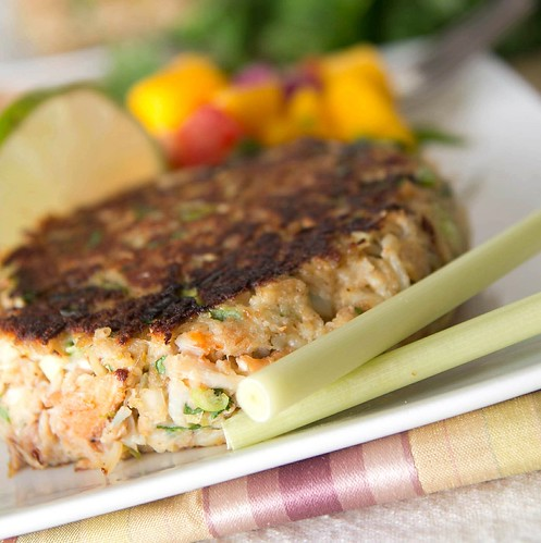 Lemongrass Crab Cakes