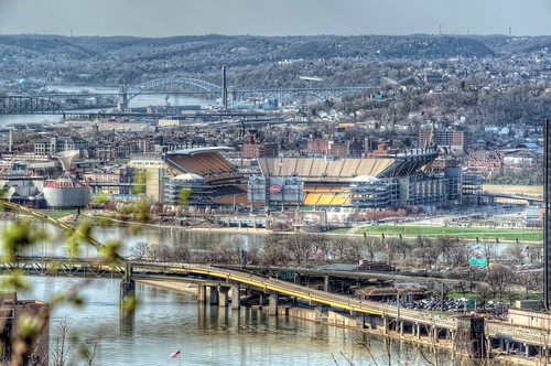 Heinz Field from Grandview Park HDR