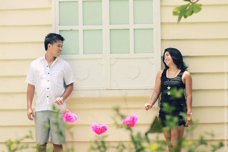 Cebu Modern Vintage Prenup, Cebu Vintage Engagement Session