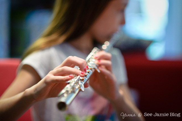 Learning to Play Flute