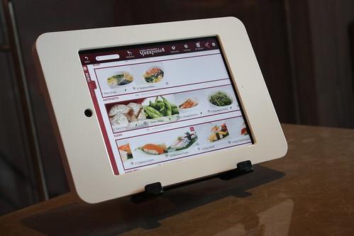 iPad Sushi Ordering in Toronto