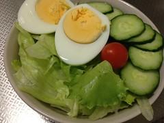 朝食サラダ (2012/8/3)