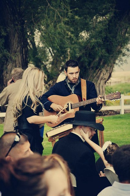 Our wedding music. Dulcimer and acoustic guitar