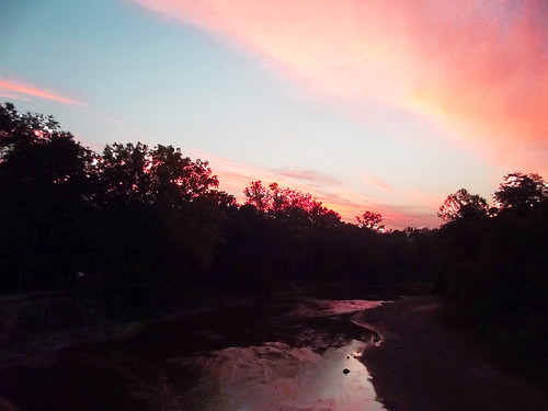 morning sky sunrise outside outdoors chagrinriver chagrinriverpark