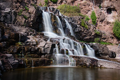 Gooseberry Falls, using a 10-stop ND filter