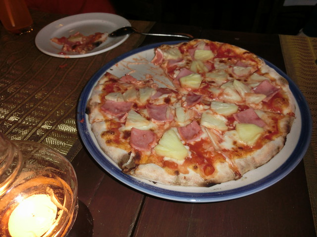 Pizza(Ham and Pine)