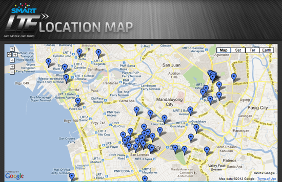 Smart LTE Locations