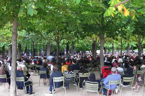 Xardín de Luxemburgo (París). Concerto