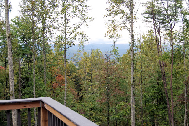 Cabin 2 at Natural Tunnel State Park has magnificent views!
